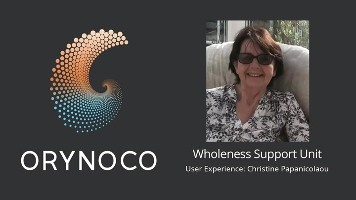 User Experience Video about Wholeness Support Unit by Christine Papanicolaou