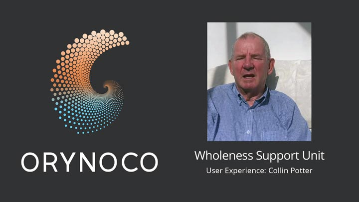 User Experience Video about Wholeness Support Unit by Collin Potter