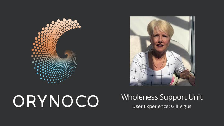 User Experience Video about Wholeness Support Unit by Gill Vigus