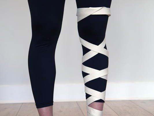 Quantum Loop Used in Leg Cross Wrap