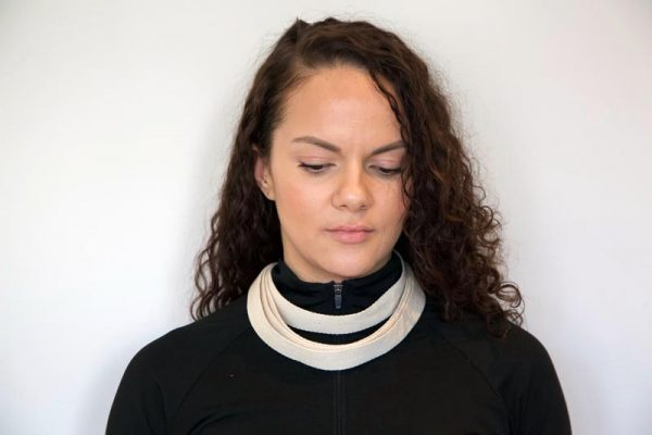 Quantum Loop Used as Neck Wrap - the 'QL Necklace'