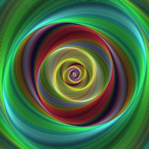 The New Science of Life Force Information Fields - Part 1 (Abstract Spiral Image)