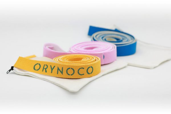Orynoco Quantum Loops in Pink, Blue & Gold with Handy Zippered Carry Bags