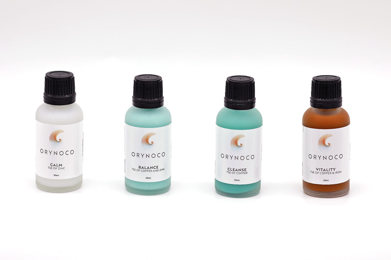 A Kit of All 4 Transition State Elements (TSE) in 30ml Bottles