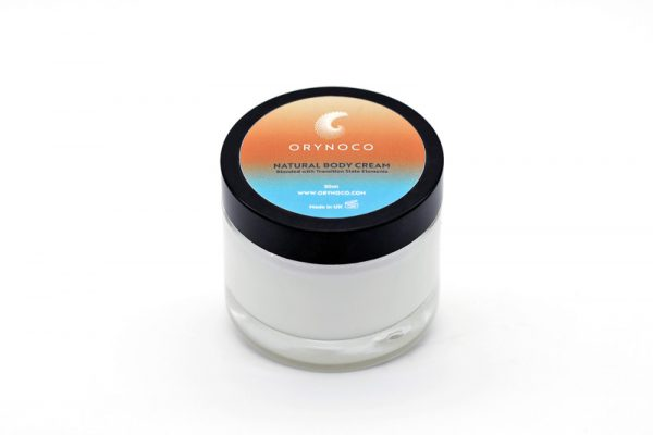 Orynoco Natural Body Cream with Radiant Life Force Energy Alchemy