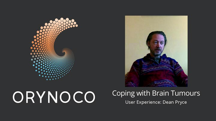 User Experience Video on Coping with Brain Tumours by Dean Pryce