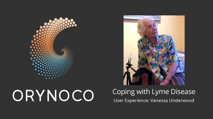 User Experience Video on Coping with Lyme Disease by Vanessa Underwood