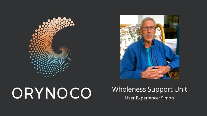User Experience Video with the Wholeness Support Unit by Simon