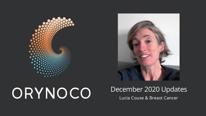 User Experience December 2020 Updates Video about Wholeness Support Unit for Breast Cancer by Lucia Couse