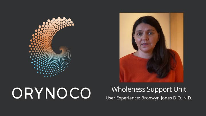 User Experience Video about Wholeness Support Unit In Osteopathy Clinic by Bronwyn Jones