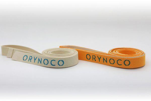 Orynoco Quantum Loops in Gold & Tan - These Come with Handy Zippered Carry Bags (not shown)
