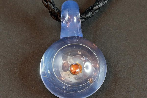 Life Force Jewellery Necklace Pendant w/ Leather Cord- Design 07