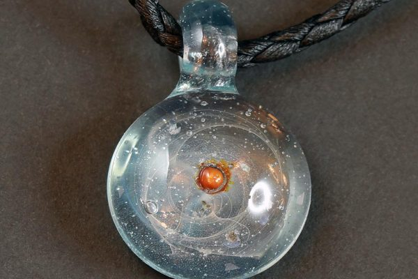 Life Force Jewellery Necklace Pendant w/ Leather Cord- Design 08
