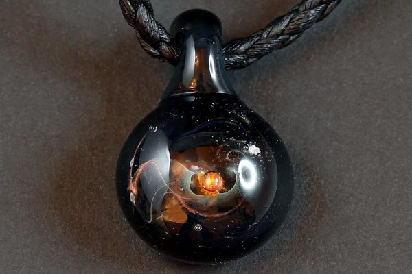 Life Force Jewellery Necklace Pendant w/ Leather Cord- Design 10