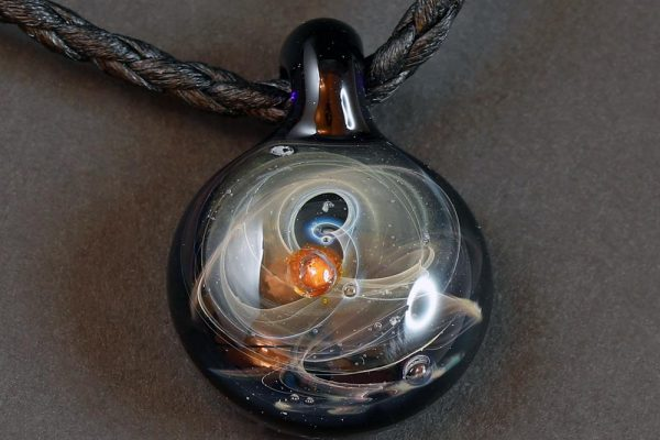 Life Force Jewellery Necklace Pendant w/ Leather Cord- Design 12