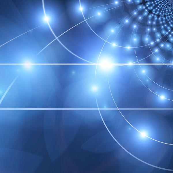 Conscious Tech Discovery - Abstract Grid of Light