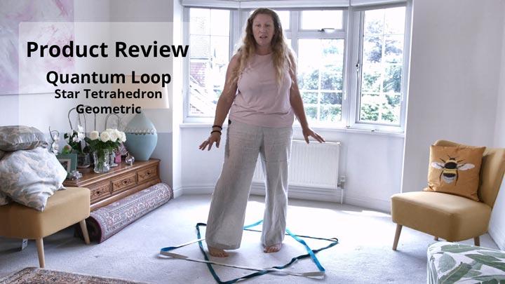 Quantum Loop in Star Tetrahedron Geometric - Product Review by Natasha Astara