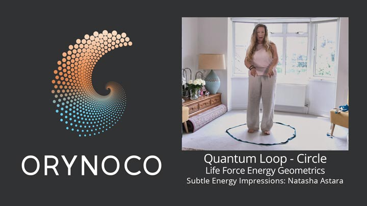 User Experience Video about Life Force Energy Quantum Loop in Circle Geometric by Natasha Astara - Clairvoyant and Acupuncturist
