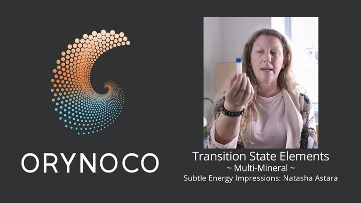 User Experience Video about Multi-Mineral Transition State Elements (TSE) by Natasha Astara - Clairvoyant and Acupuncturist
