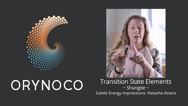 User Experience Video about Shungite Transition State Elements (TSE) by Natasha Astara - Clairvoyant and Acupuncturist