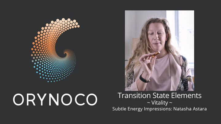 User Experience Video about Vitality Transition State Elements (TSE) by Natasha Astara - Clairvoyant and Acupuncturist