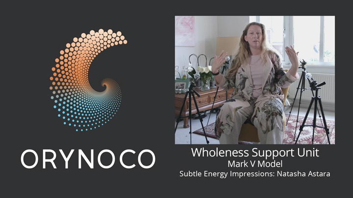User Experience Video about Mark V Model Wholeness Support Unit by Natasha Astara - Clairvoyant and Acupuncturist