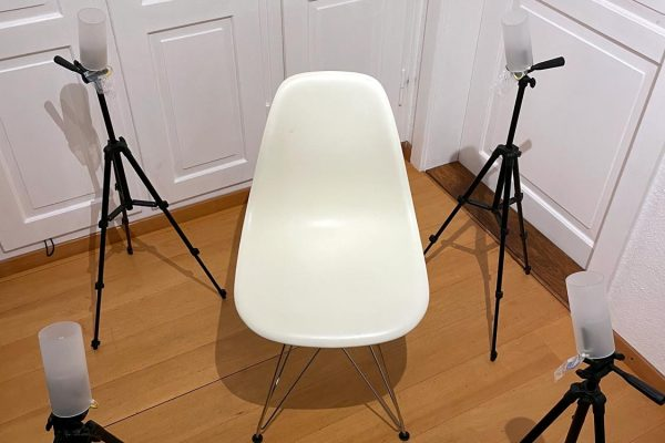 Wholeness Support Unit Version 2 with 4 Reactor Heads on Tripods (Standard) :: Chair NOT Included